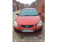 Kia Rio 2005 Red 5 door hatchback. Daily runner. Good condition in and out.