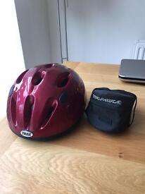 Trax Cycle Helmet and Handlebar Velcro fix Zip Bag
