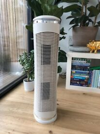 Homedics Hepa Oscillating Tower Air Purifier and Fan