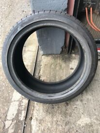 2 NEW / AS NEW 225/40R18 - ONE IS A RUN FLAT