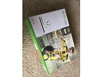 XBox One S 1 TB with 6 games + 2 white controllers