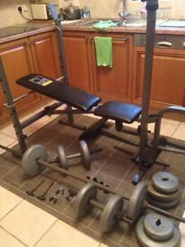 Weights equipment