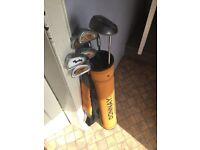 Junior Golf Clubs full set and bag