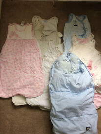 Job Lot 6 Baby Sleeping Bags