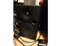 Pair of Yamaha msp5 studio active amplified speaker / monitors daw recording