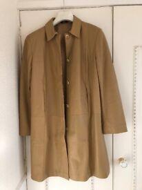 Marks & Spencer full lenght leather coat