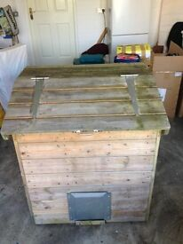 Wooden Coal Bunker