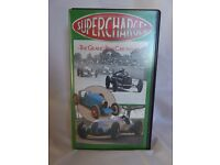 Rare VHS tape 'Supercharged The Grand Prix Car 1924 to 1939'