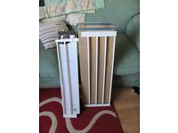 2 x stairgate extensions - 14cm and 28cm FREE