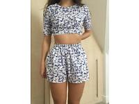 Floral co ord, OH MY LOVE-London, Size S/XS