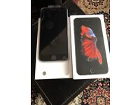 Apples IPhone 6s Plus 16gb Unlocked black very good condition like new