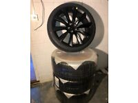 "22"" Onyx Black Wheels - Brand New for Tesla Model X"