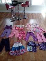 Lot of 20 girls clothing fall winter most new 4-5T.