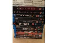 Blu rays £1 each or £10 for all 13
