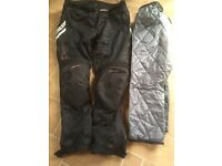 R S T Ventilator motorcycle trousers
