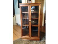 Music Centre with top section for record deck. Solid wood, good condition.