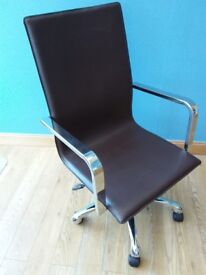 Dwell Modern Leather Office Chair
