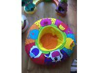 Baby activity ring/nest