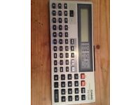 Casio programmable calculator FX-700P.