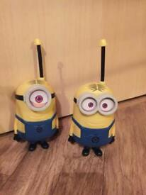 Minion walkie talkies