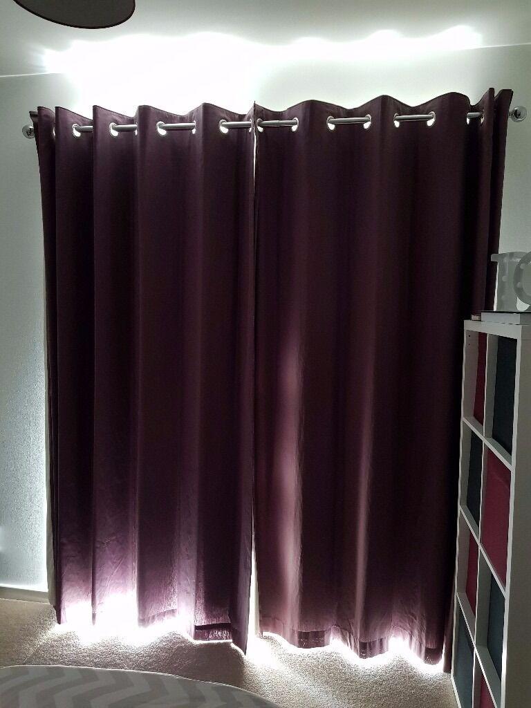 Next Blackout Eyelet Curtains (1 year old)