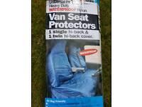 Heavy duty waterproof nylon van seat covers