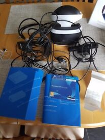 Ps4 virtual headset and games