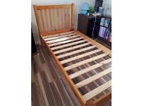 John Lewis Single Pine Bed Frame
