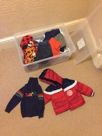 9-12 & 12-18 months boys winter clothes