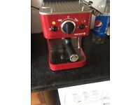 Dualit espressiv coffee machine.
