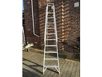 Industrial step ladders