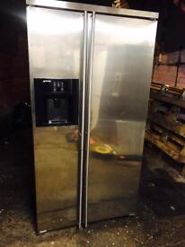 Smeg American fridge freezer with water dispenser