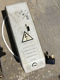 FREE neon light transformer - old, unusual, may be good for parts