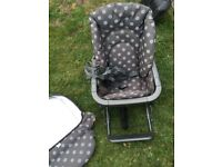 Mamas and Papas high chair seat