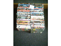 50 original DVDs