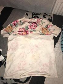 Men Floral Tshirt