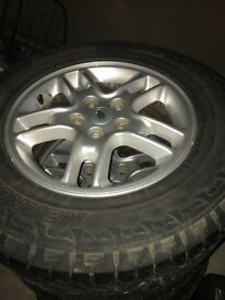 Hankook Tyres all terrain with rims
