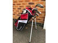 Golf Bag & clubs Kids 5-8
