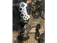 2 PS2 Controllers