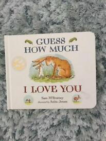 Book - guess how much I love you