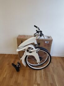 Open Box Full Sized Electric Folding Bicycle (Gi Flybike)