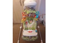 Fisher price jungle baby swing