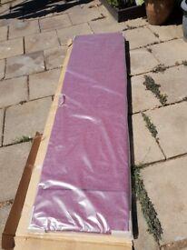 Brand New still in its box , 6ft Wide Fabric Headboard.