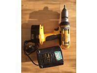 Cordless Drill Dewalta 14.4V