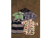 5 Boys Next shirts age 2-4 excellent condition