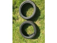 Tires for sale 245 40Z R18 97W XL 245 40 18 245 40 R18 TYRES TIRES Almost New 245 40 r18