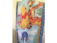 Winnie the poo single duvet cover and pillow case