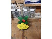 Christmas bells bird box