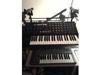 Vintage Korg Mono/Poly 4 VCO Analog Synthesizer Amazing condition!
