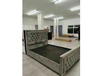🔵💖🔴OFFER w MANY & COMFORTABLE MATTRESSES🔵💖🔴HEAVEN DOUBLE & KING SIZE BED OTTOMAN STORAGE FRAME